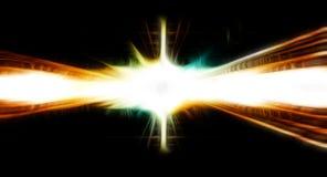 Blur background. High speed orange blur background or banner Stock Photography