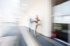 Blur background interior human figures Stock Photo