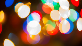 Blur Background red. Colorful blur bokeh background lights new year Stock Images
