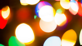 Blur Background red. Colorful blur bokeh background lights new year Stock Photo