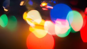 Blur Background red. Colorful blur bokeh background lights new year Stock Image