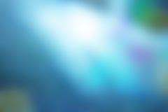 Blur blue background. Defocused bokeh lights background blur Stock Photos