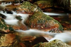 Blur, Blurred, Cascade, Fall, Flow Royalty Free Stock Images