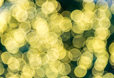 Blur of bokeh background. Stock Photo