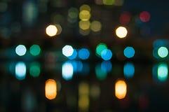 Blur bokeh. Blink background glowing royalty free stock image