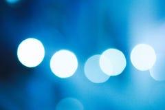 blur bokeh christmas enhaced lights Στοκ φωτογραφία με δικαίωμα ελεύθερης χρήσης