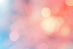 Blur bokeh  on defocused background Royalty Free Stock Image