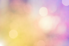 Blur bokeh  on defocused background Stock Image