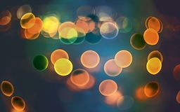 Blur bokeh lights. Effects background stock image