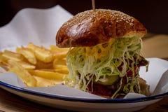 Blur, Bread, Burger Stock Photo