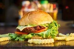 Blur, Burger, Close-up Royalty Free Stock Photo