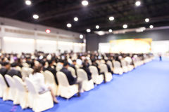 Blur of Business Conference and Presentation Royalty Free Stock Photos