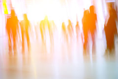 Blur business people background stock image