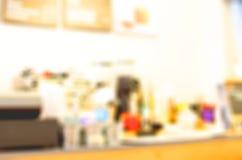 Blur cafe background Stock Image