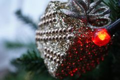 Blur, Christmas, Decor Stock Images