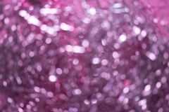 Blur of Christmas decorations. abstract blurred of pink and silver lights background. Blur of Christmas decorations. abstract blurred of pink and silver royalty free stock images