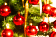Blur christmas tree Stock Image