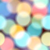 Blur circles on dark background. Seamless background pattern. Blur circles on dark background stock illustration