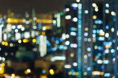Blur cityscape Royalty Free Stock Photo