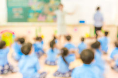 Blur classroom Royalty Free Stock Photography