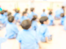 Blur classroom Royalty Free Stock Images