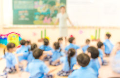 blur classroom Royalty Free Stock Image
