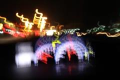Blur closeup car dashboard Royalty Free Stock Photo