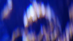 Blur color air bubble from oxygen machine. Abstract blur bokeh background.  stock video
