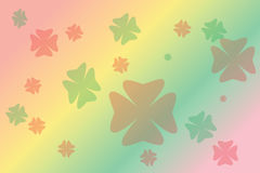 Blur colourful drawing flower Royalty Free Stock Photo