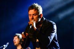 Blur concert Stock Image