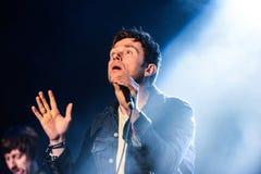 Blur concert Stock Images