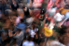 Blur dance Stock Image