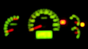 Blur dashboard Stock Image