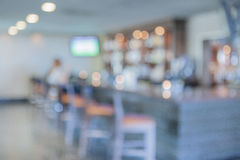 Blur or De-focus image of Coffee Shop Royalty Free Stock Image