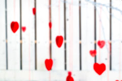 Blur or defocus image of valentines day background Stock Photo