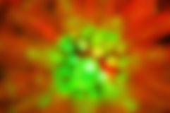 Blur or defocus of Red and Green background Royalty Free Stock Images