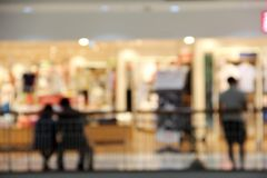 Blur department store Royalty Free Stock Photos