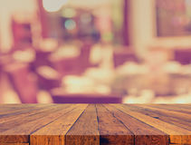 blur dinning table set for background usage. royalty free stock photo