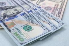 Blur dollar bank background. Royalty Free Stock Image
