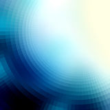The blur effect gradually turning into faceted Royalty Free Stock Photos