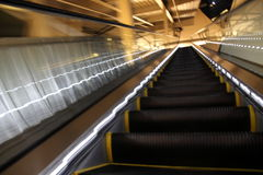 Blur escalator Royalty Free Stock Images