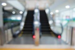 Blur escalator Blurred Royalty Free Stock Photo