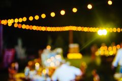 Blur event with people background - stock photo