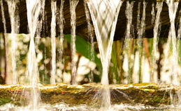 Blur flowing water Stock Images