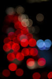 Blur focus from city traffic. Royalty Free Stock Photo