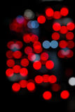 Blur focus from city traffic. Stock Photography