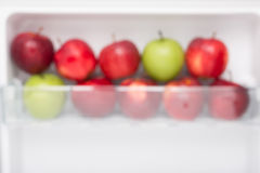 Blur focus Fresh apple Stock Image