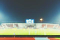 Blur of football stadium Royalty Free Stock Image