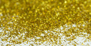 Blur golden background from gold tinsels with bokeh. Blur golden background from gold tinsel with bokeh Stock Images