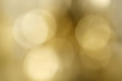 Blur of golden pendulum clock. Royalty Free Stock Images